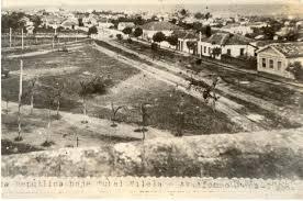 Praça da República década de 20