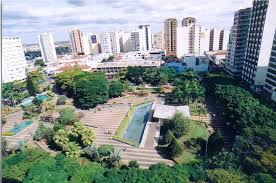 Praça Tubal Vilela - década de 80