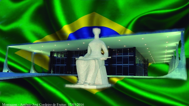 JUSTIÇA E BANDEIRA DO BRASIL