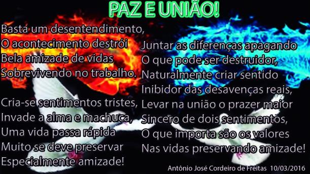 PAZ E UNIÃO!-